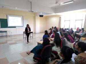 Guest lecture at Christ (deemed to be University), Bangalore