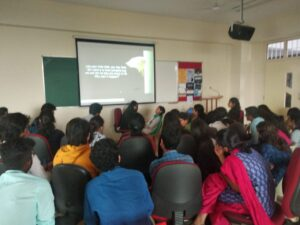 A live demo of Age Regression Workshop at Christ (deemed to be University), Bangalore